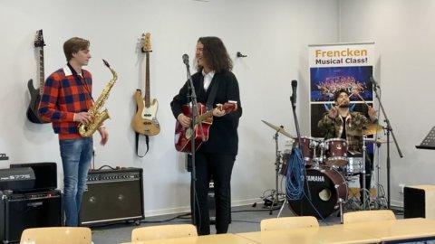 Muzieklokaal Sem Robin Waylon